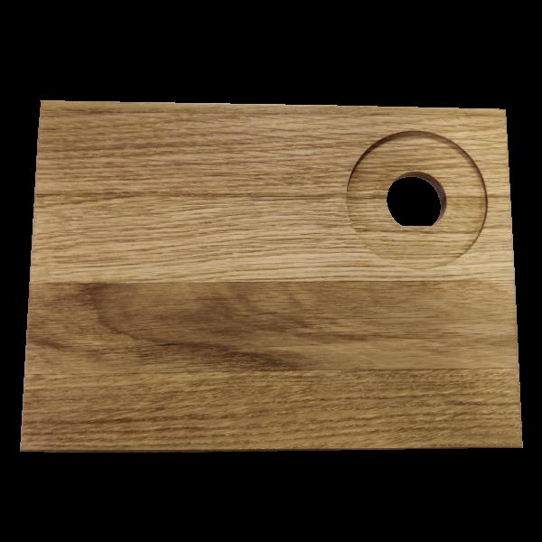 Smørebræt egetræ - 6 stk